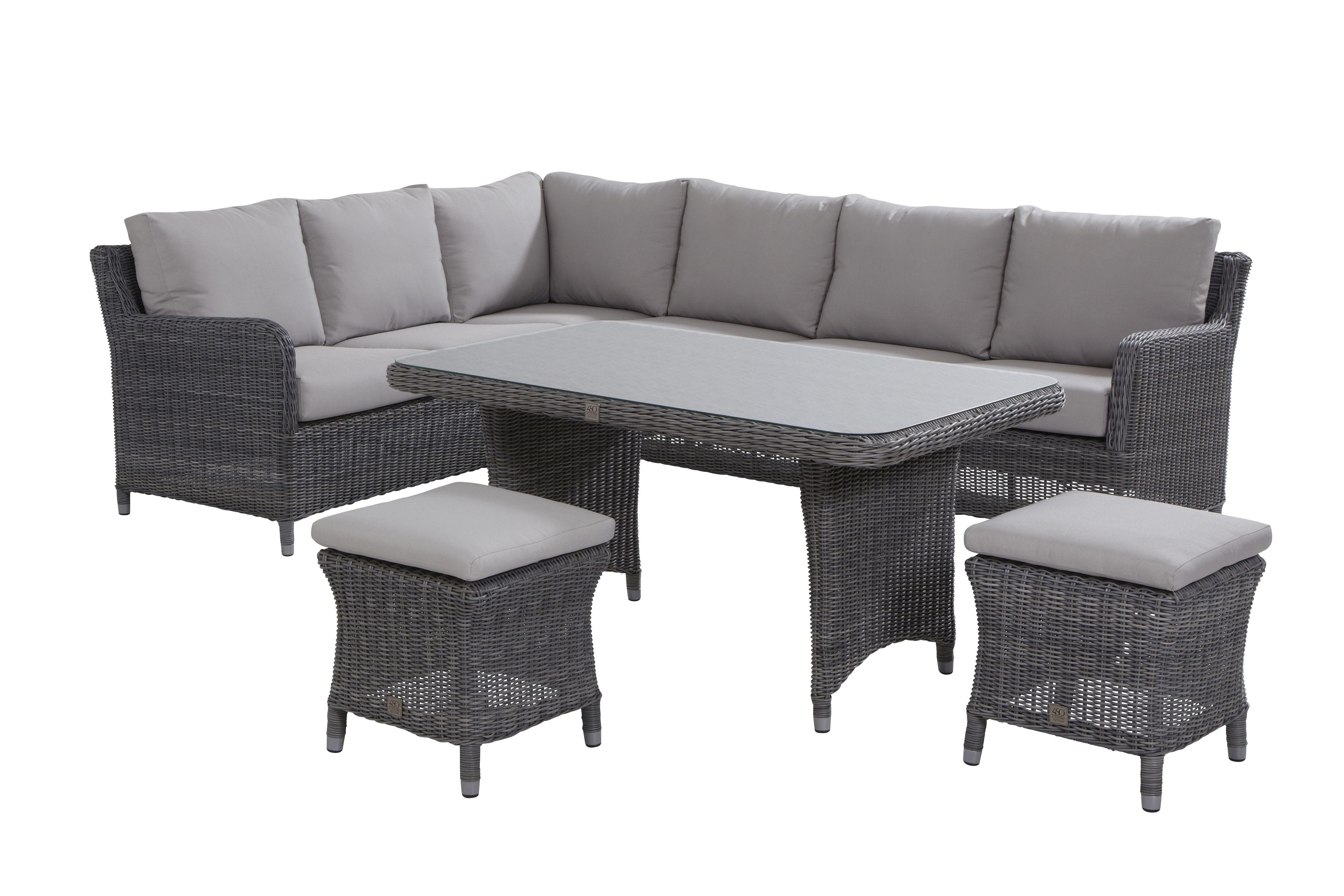 Magnifique Salon De Jardin Avec Table Haute Décoration