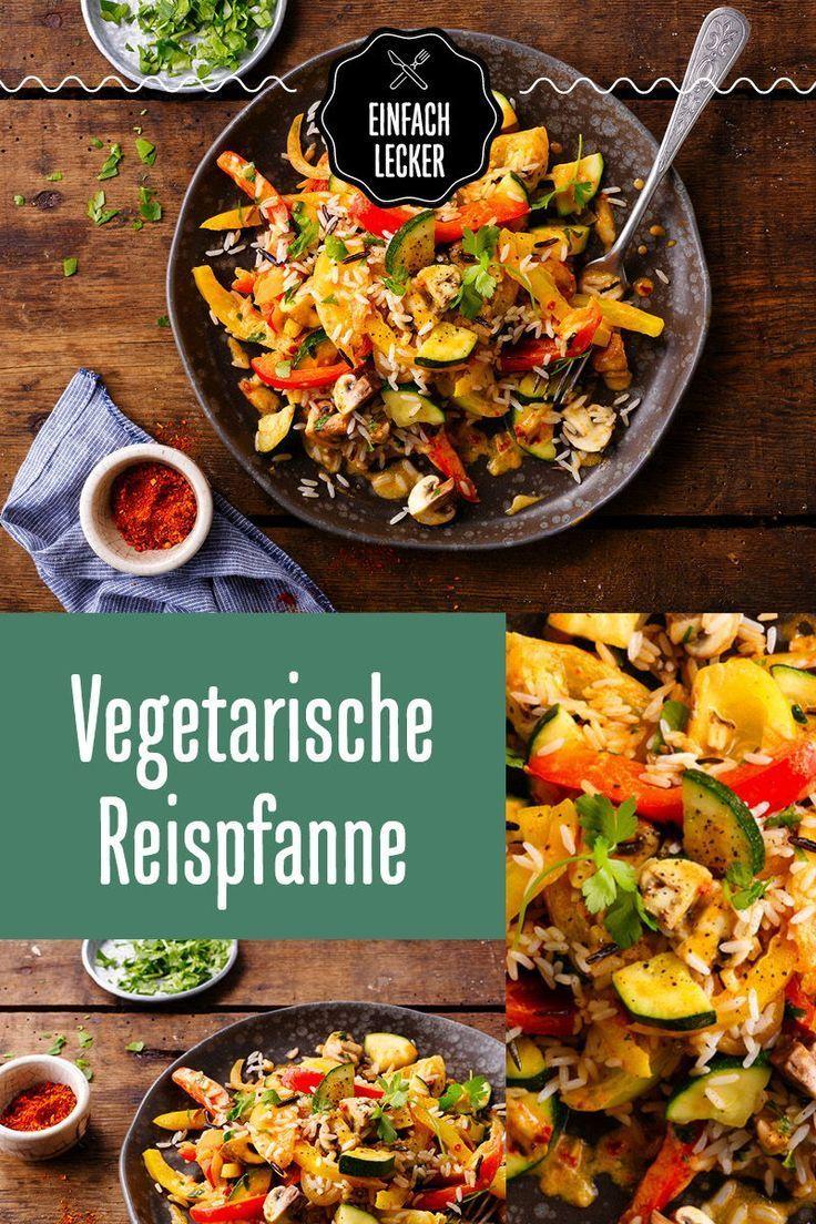 Still deinen Reishunger vegetarisch. -