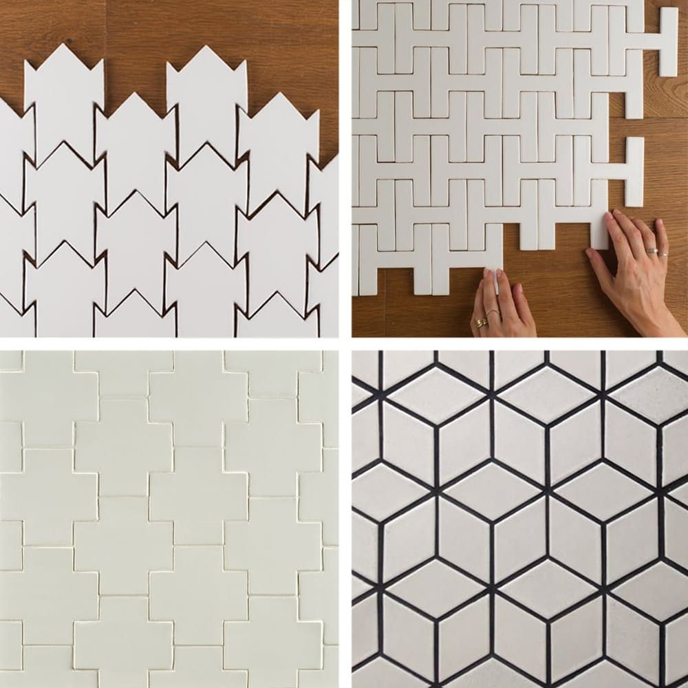 10 Badass Tile Shapes You Didn\'t Know Existed   Patrones