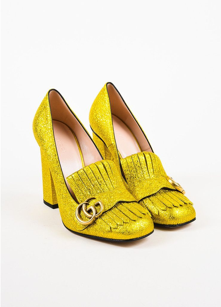fb387b94b31 Gucci yellow gold metallic