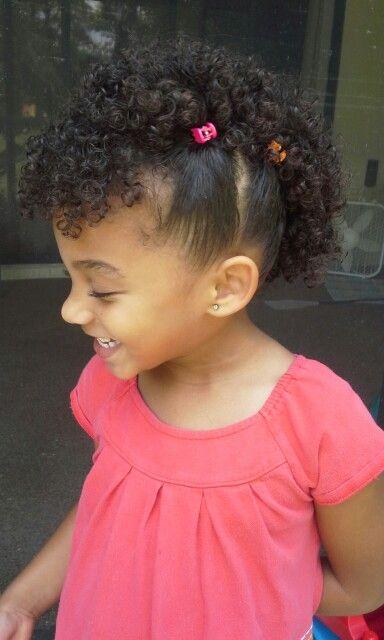 hailey. mohawk mixed baby hair