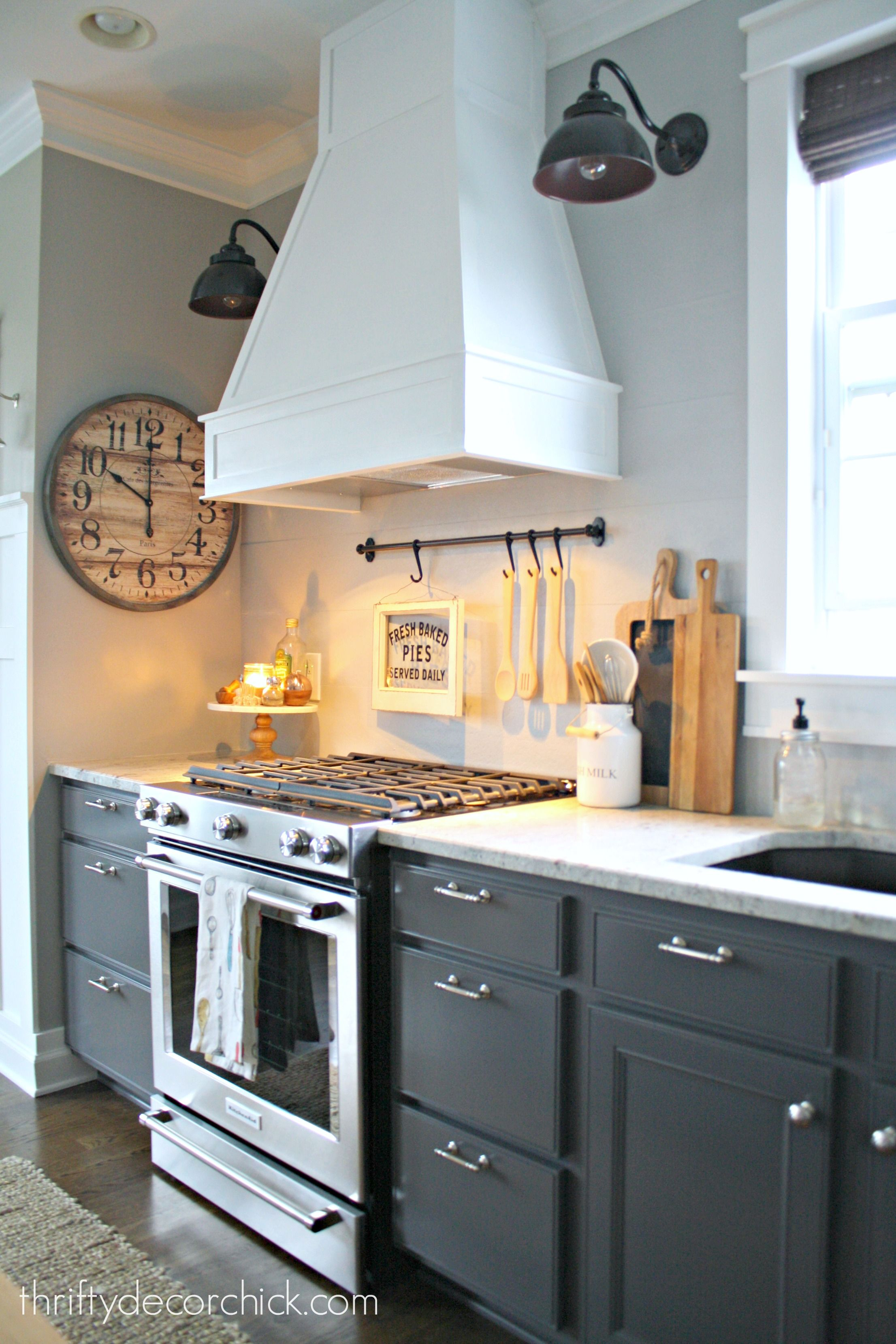 How To Install A Vented Range Hood And Build A Decorative Wood Hood Over  The Range.
