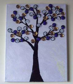 Glass gem tree