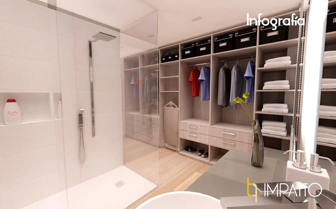 Interiorismo Habitacion Con Vestidor Y Bano Integrados Ausias