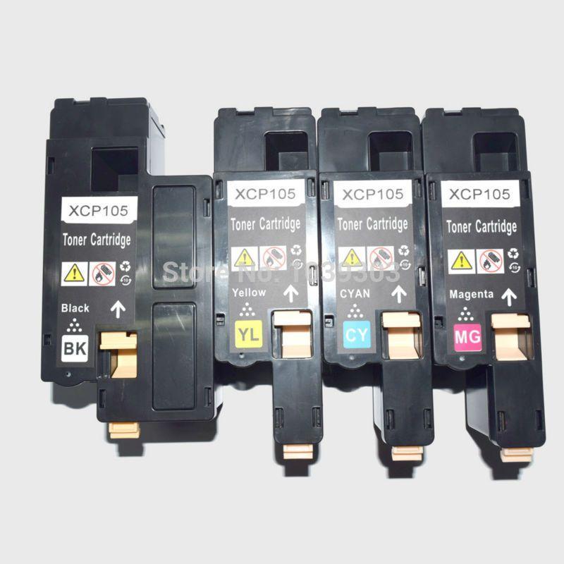 4 Color For Choose Compatible Fuji Xerox Docuprint Cp105 Cp105b
