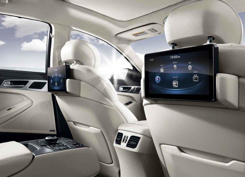 2015 Hyundai Genesis 5 0l V Spec Rear Seat Entertainment With Wifi