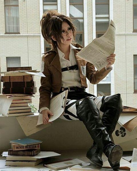 Follow @popmojimag On Instagram(cosplay Collection) -Hanji