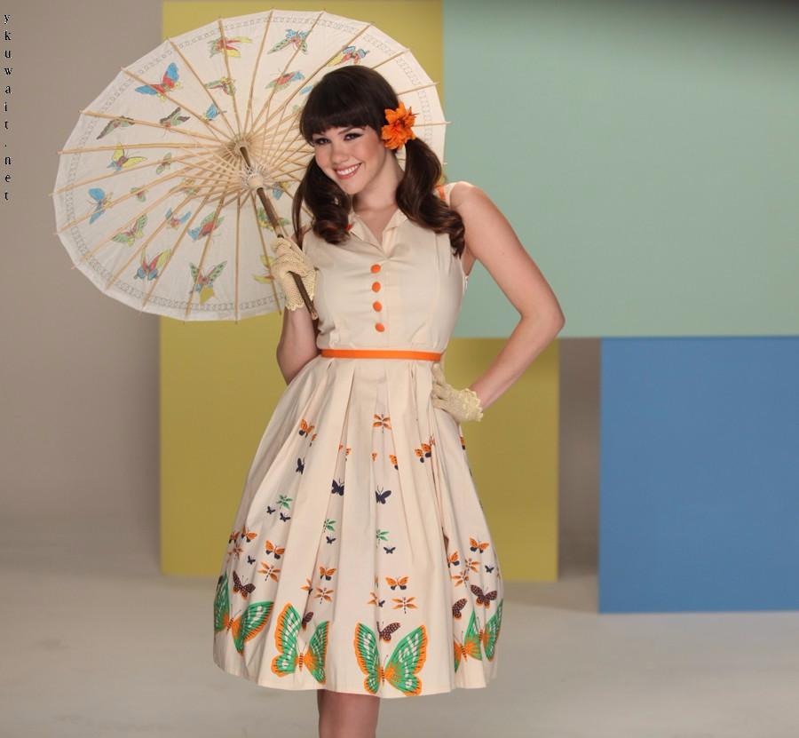 فساتين الستينات المنفوشة موسوعة Summer Dresses Dresses Fashion