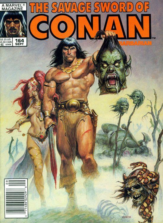 Savage Sword of Conan the Barbarian