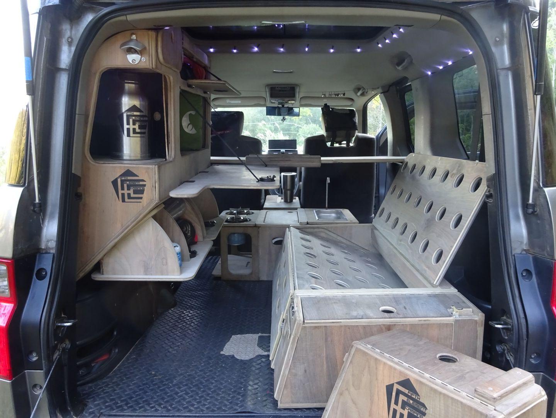 Storage cabinet u desktop Camping Pinterest Honda element