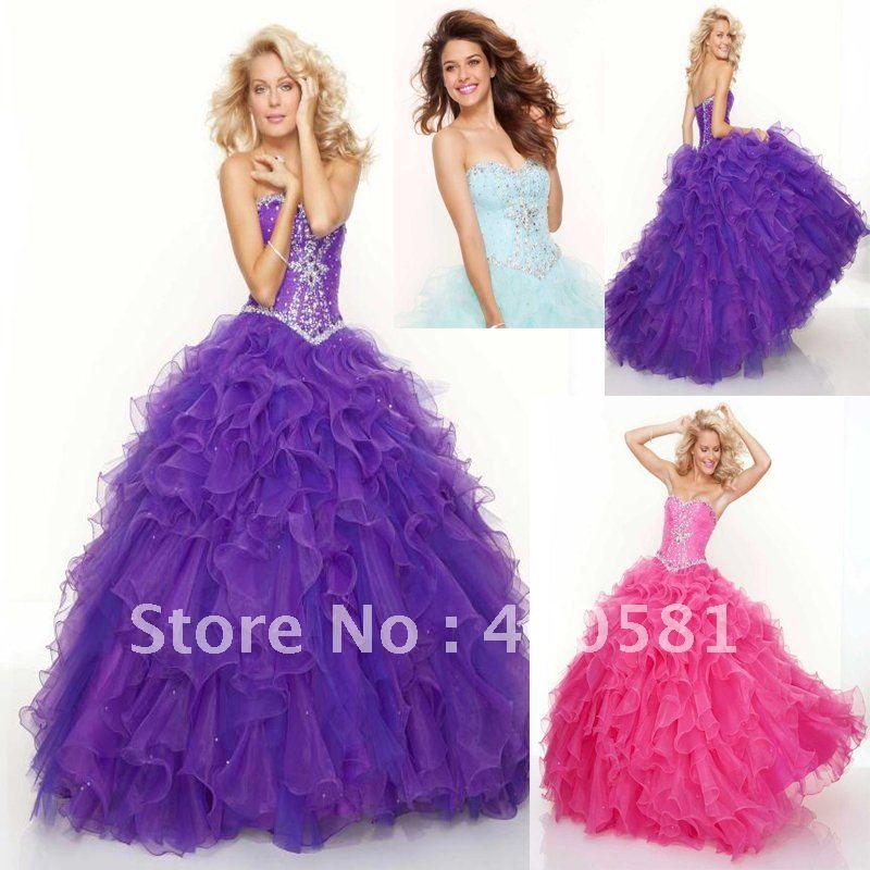 pink sweetheart ball gown dress
