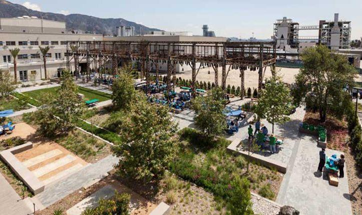 Burbank Water And Power Eco Campus Asla Designing Our Future Landscape Projects Landscape Landscape Architecture