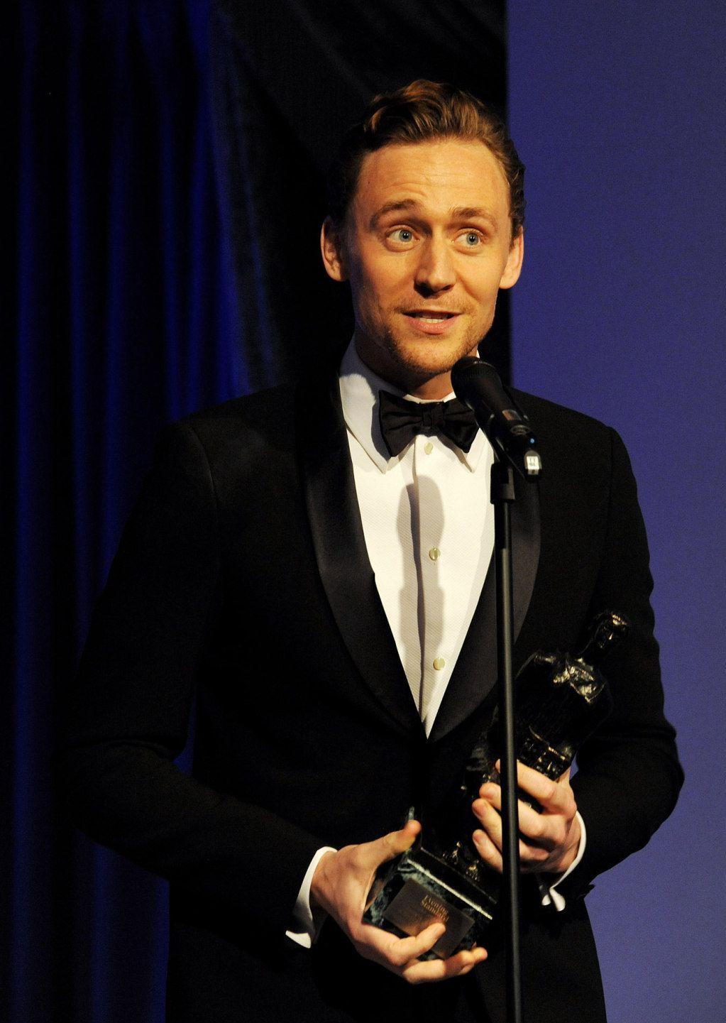 Tom Hiddleston at the 59th London Evening Standard Theatre Awards on November 17, 2013