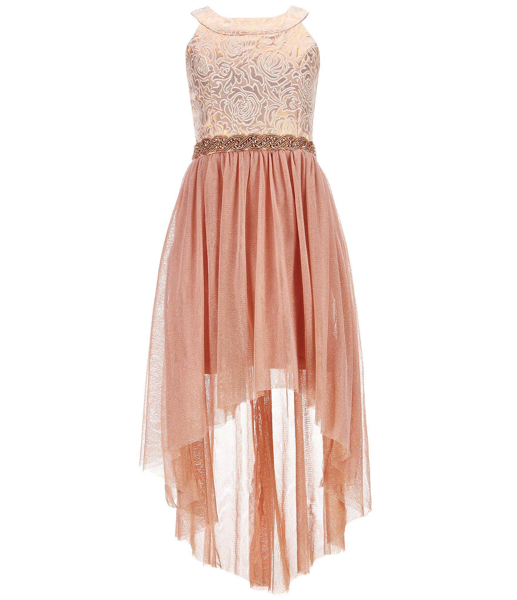 15ad9116b0 Shop for My Michelle Big Girls 7-16 Halter-Neck High-Low Dress at  Dillards.com. Visit Dillards.com to find clothing