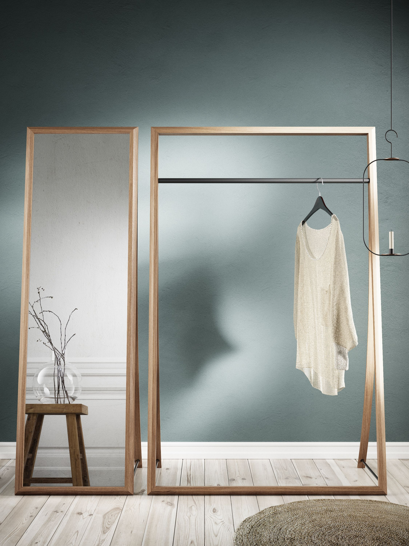 kleiderst nder framed rack garderobe design garderoben und flure. Black Bedroom Furniture Sets. Home Design Ideas