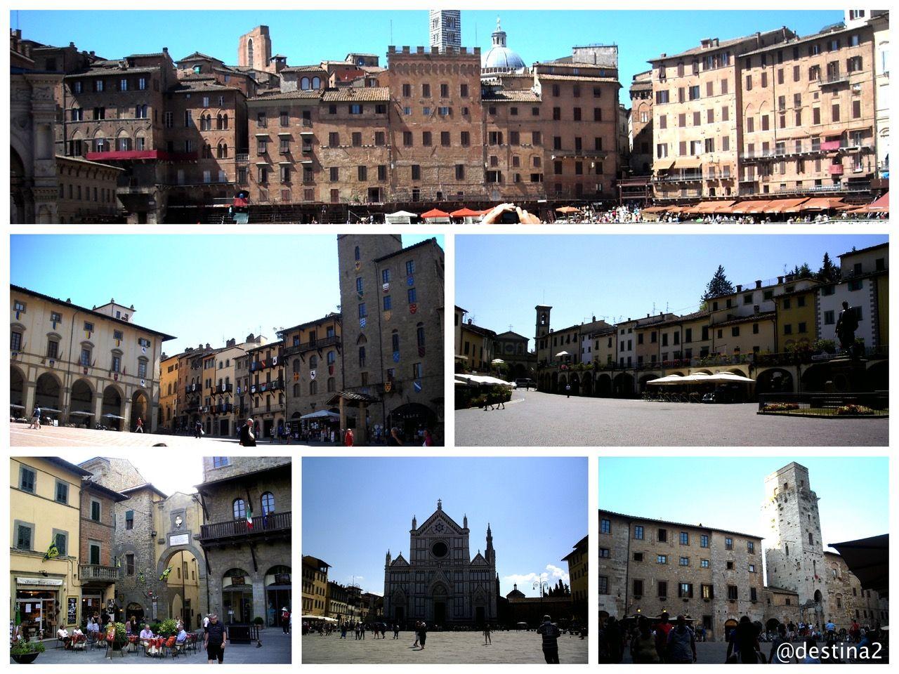 Plazas de la Toscana.-