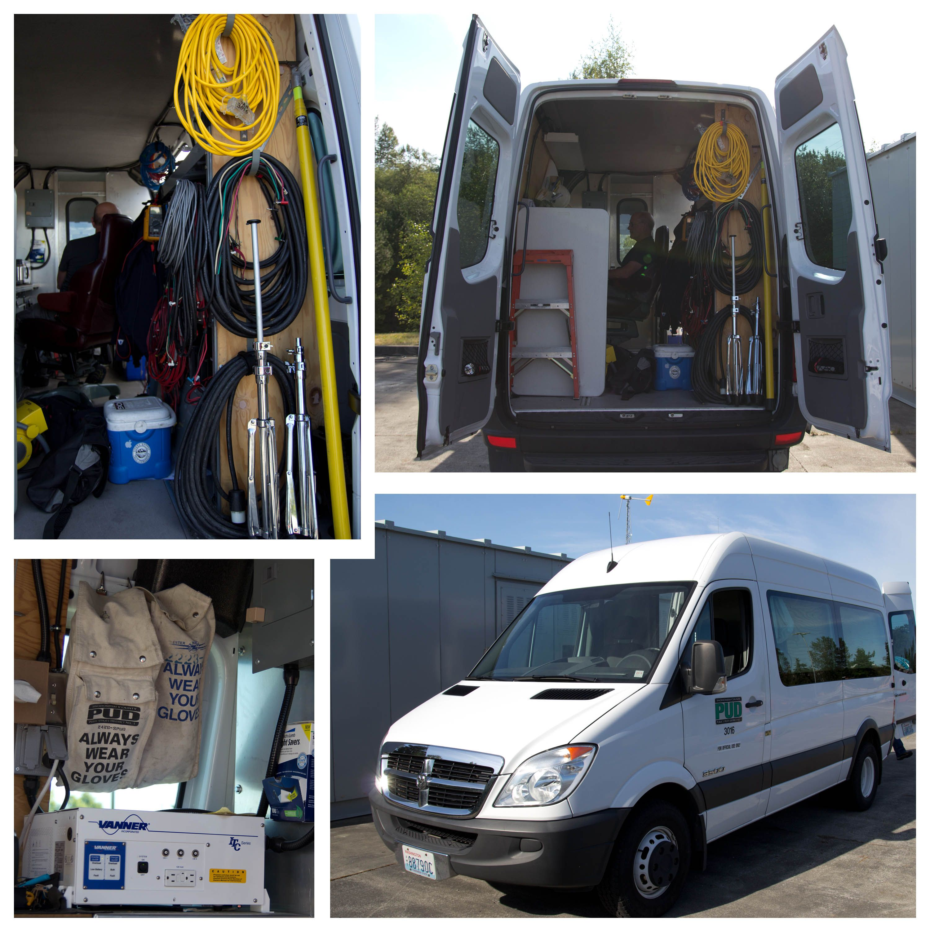 Vehicle  Is Sprinter Van With Special Outfitting To Aid - Vehicle relay testing