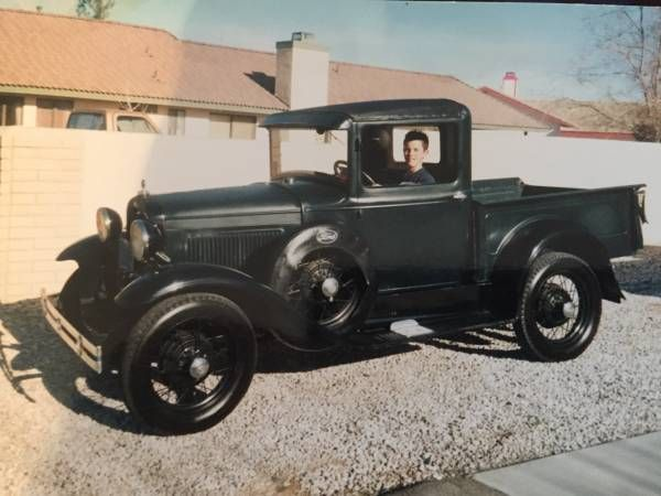Wanted this 1931 Model A ford truck (Apple valley). Was