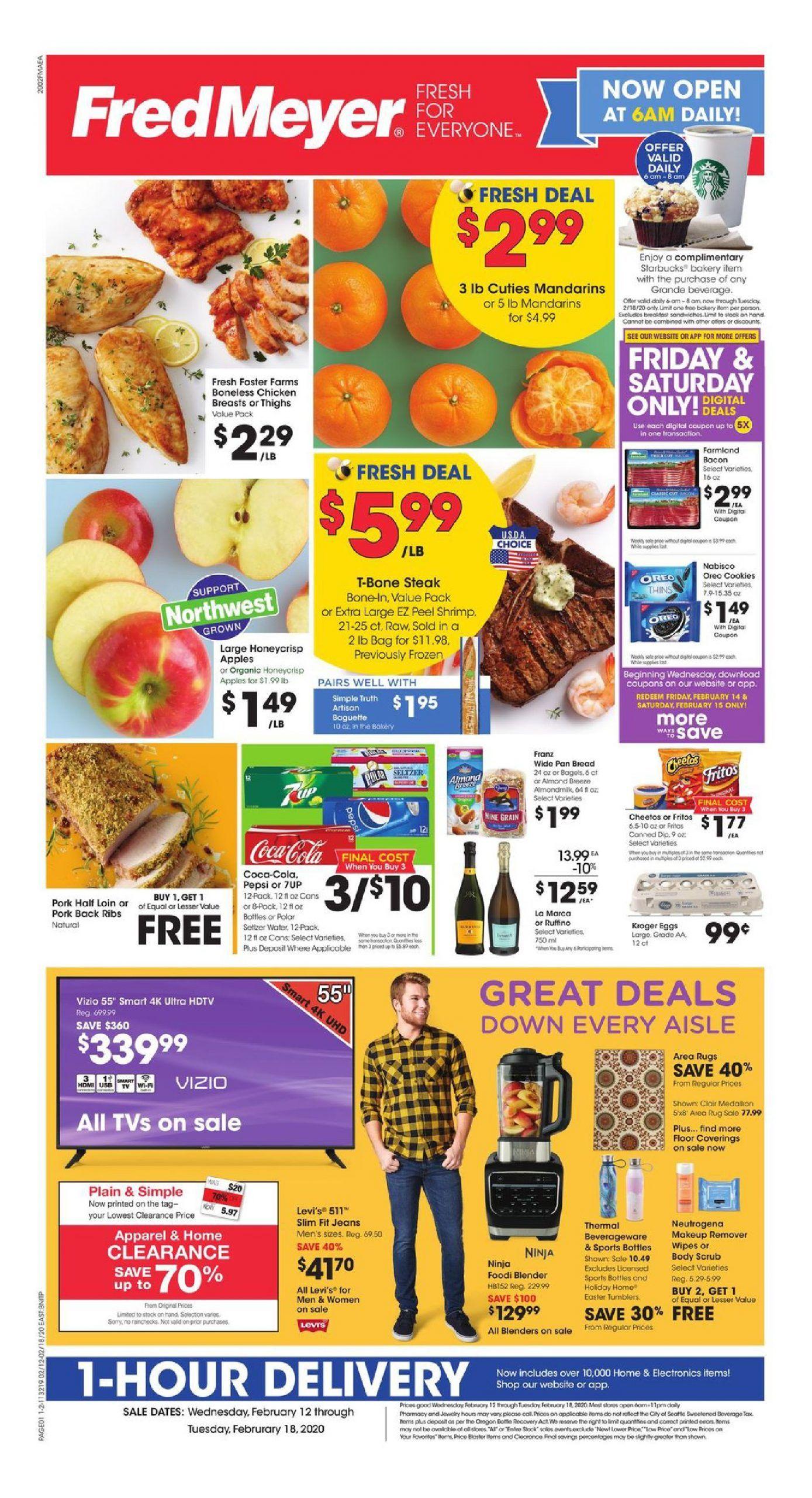 Fred Meyer Weekly Ad flyer Mar 11 Mar 17, 2020 Weekly