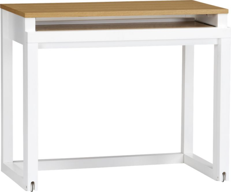 Roll Out Desk Crate And Barrel Modern Home Office Desk Furniture Modern Home Office