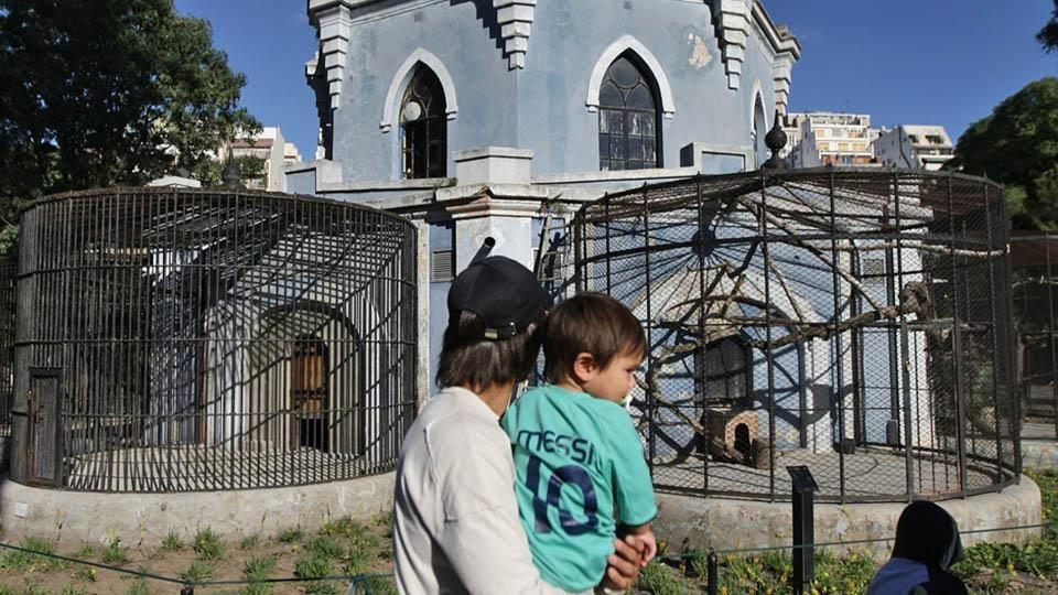 Además del mal estado de los animales , los edificios que los albergan están en un avanzado estado de deterioro. Foto: Archivo