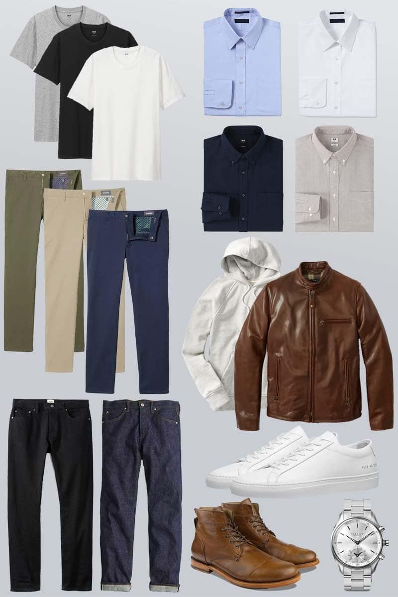 How to Build a Minimalist Capsule Wardrobe for Men • Styles of Man
