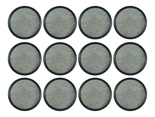 Mr. Coffee Water Filter Replacement Discs Charcoal water