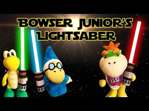 Sml Movie Bowser Junior S Lightsaber Youtube