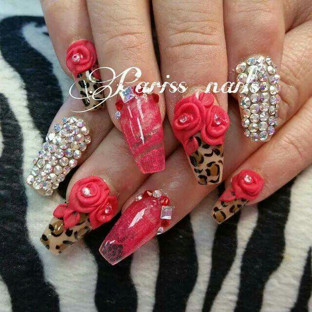Red with lepard