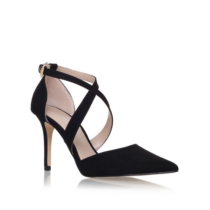 Sale Cheap women shoes Carvela Kross high heel sandals Black D654615