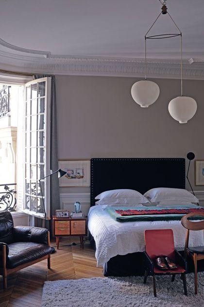 Lu0027appart haussmannien de Sophie Hanniet, architecte décoratrice