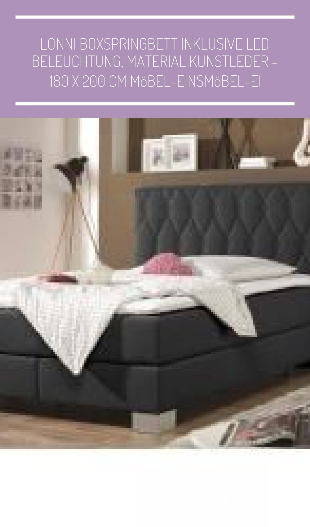 Lonni Boxspringbett Inklusive In 2020 Bed Home Decor