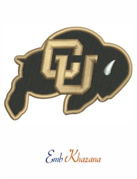 Colorado Buffaloes Logo Embroidery Design Buffalo Logo Embroidery Logo Wisconsin Badgers Logo