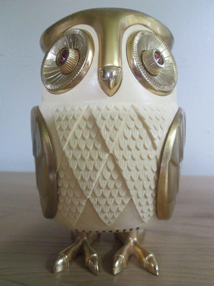 BUBO Owl Transistor Radio- Midnight Owl- Vintage 1960s