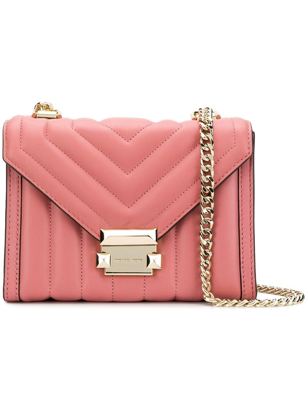 1254848fc Michael Michael Kors Whitney shoulder bag - Pink Michael Michael Kors  Whitney Shoulder Bag - Farfetch