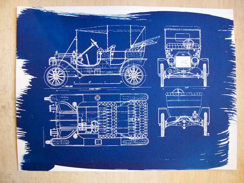Ford Model T Blueprint Silodrome Ford Models Model T