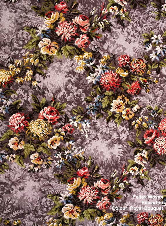 A Colourful Floral Carpet For A Bright Unique Home Colours