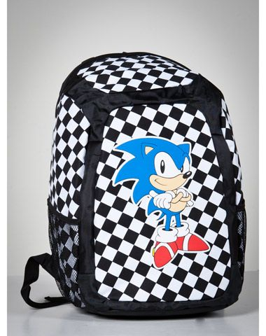 Sonic Checkered Backpack