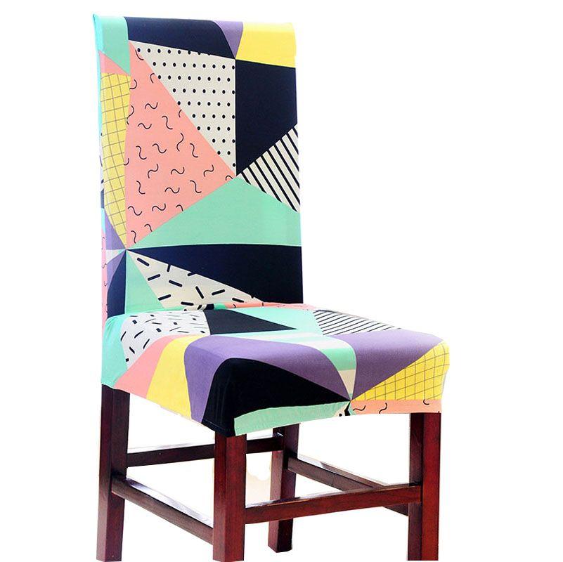 new design geometry stoel decoratie bruiloft stoelhoes eetkamer ...