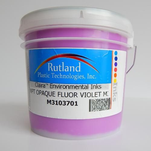 The M3 range of plastisol's is Rutland's most popular color mixing system to date. All the primary ink colors are PANTONE® licensed. This high performance, low-tack plastisol color mixing system is designed for printing on 100% cotton fabrics or alternatively, makes an excellent system for printing on poly/cotton blends when using a low-bleed underlay white.
