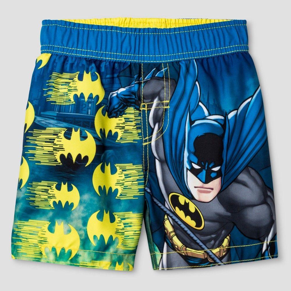 993e7ca044 Toddler Boys' Batman Swim Trunk | Products | Pinterest | Swim trunks ...