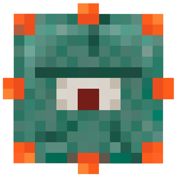 Guardian Face Minecraft Face Minecraft Decorations