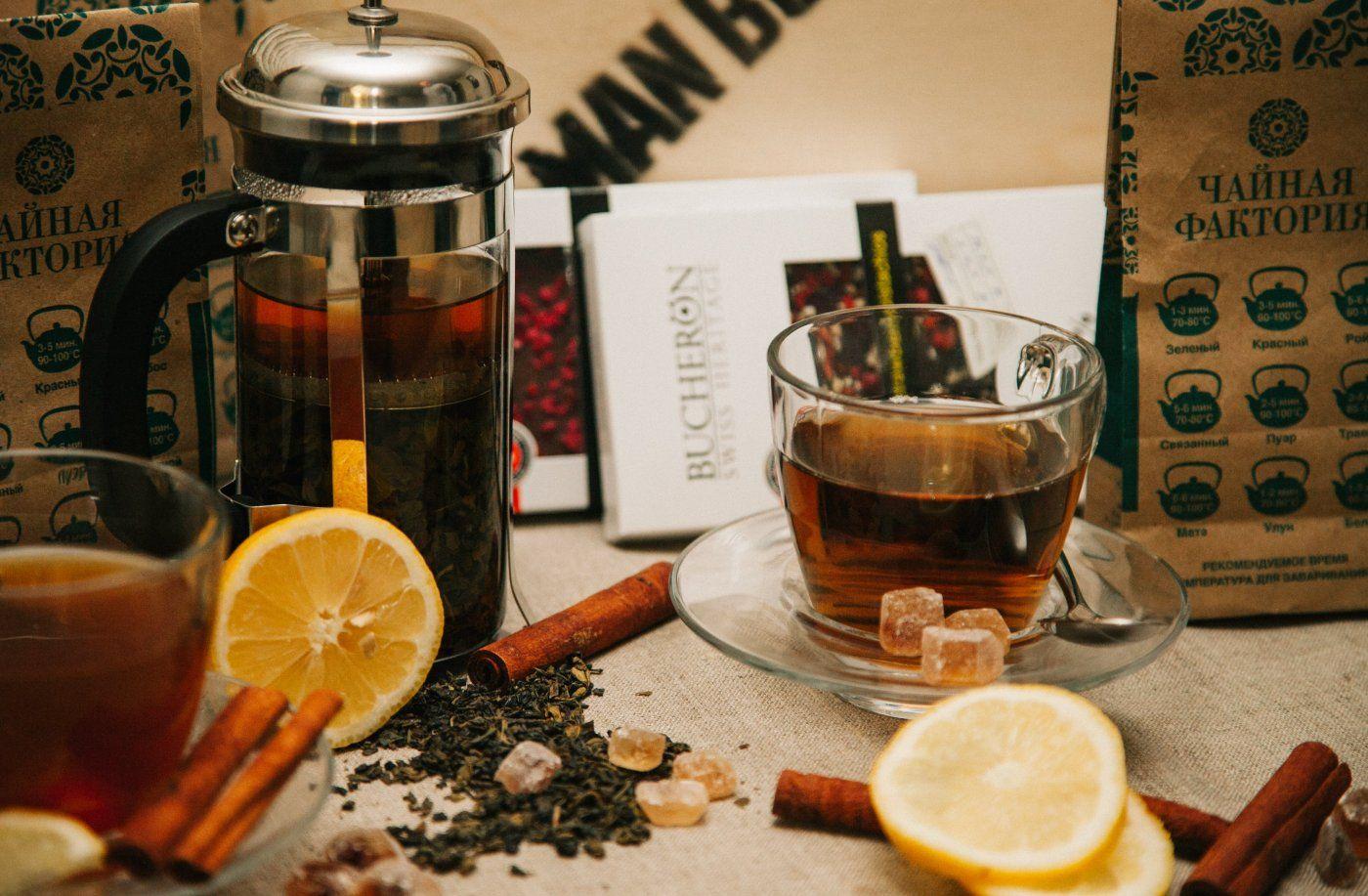 набор чая в подарок для мужчины