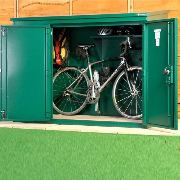 Asgard Metal Security Shed Annexe Bike Store High Quality