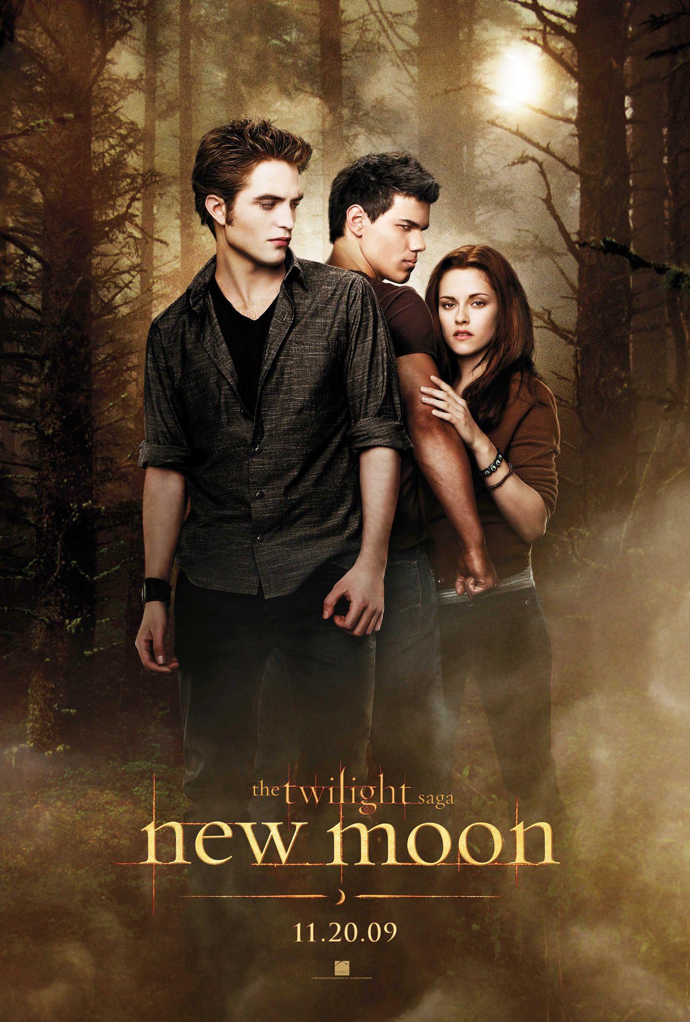 New Moon Lua Nova Filme Novos Filmes Crepusculo Filme