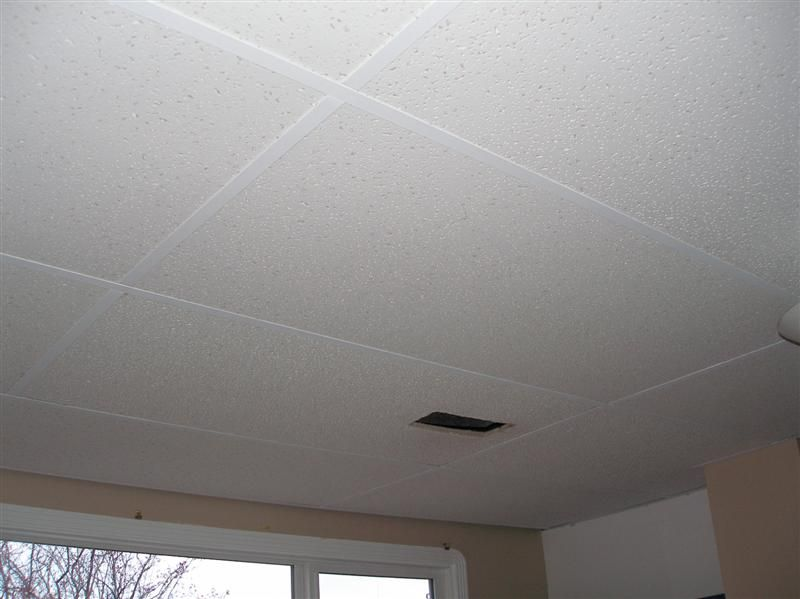 A Few Weeks Ago I Talked About Wanting To Paint The Suspended Ceiling Grid System Downstairs