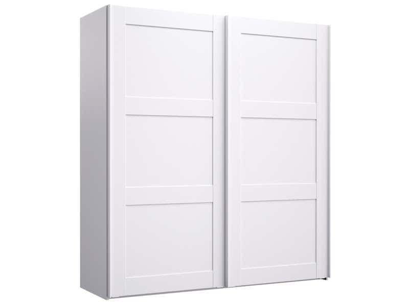 Armoire 2 Portes Coulissantes Vittoria Coloris Blanc Vente De Armoire Conforama Armoire Armoire Conforama Armoire 2 Portes