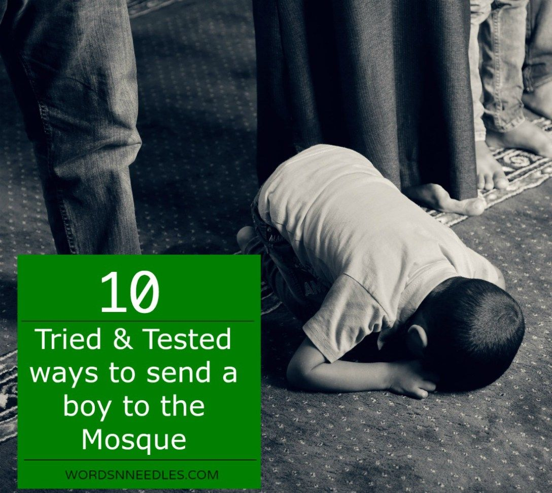 How To Encourage Child To Pray Salah At The Mosque