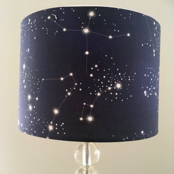 Constellations Lamp Shade Night Sky Starry Night Galaxy In
