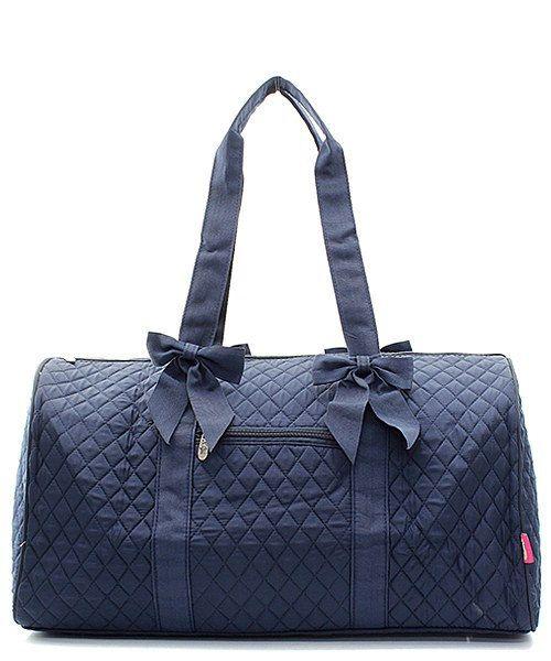 4bd2cb1c30f Monogrammed Navy Duffel Bag Girls Personalized Dance Bag | Custom ...